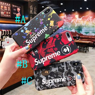 Review เคสไอโฟน เคสแข็ง iPhone 11 Pro Max 7 8 Plus X XS Max XR 6 6S Plus Fashion Supreme Luminous เรืองแสง Hard Case