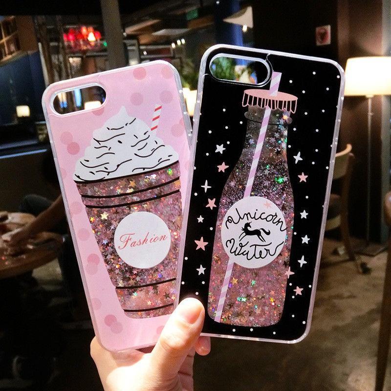 promo code 82da8 e29b9 iPhone เคส Quicksand Phone Cover Bling Glitter 3D Luxury