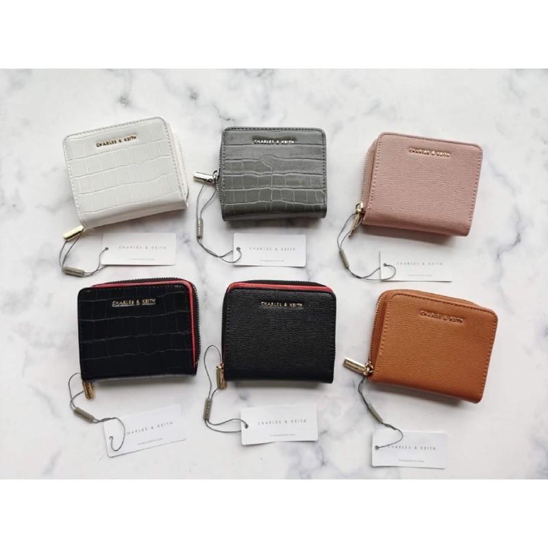 กระเป๋าสตางค์ Charles & Keith ใบสั้น 👛งาน Outlet แท้💯