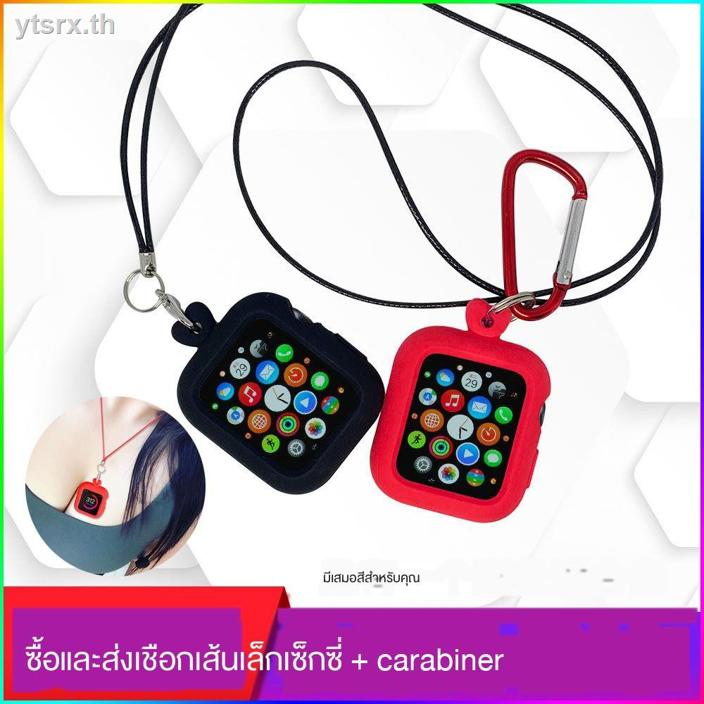 เคส Apple Watch CaseCase Apple Watchนาฬิกาข้อมือ Apple Watch SeriesApple watch case pure color silicone for iwatch sports