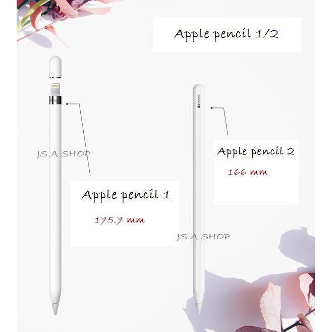 """พร้อมส่ง/มีของในไทย""""แท้""""ปลอกปากกา Apple pencil 1/2 เคสปากกา เคสแอปเปิ้ลเพน เคส apple pencil Q7wc"""