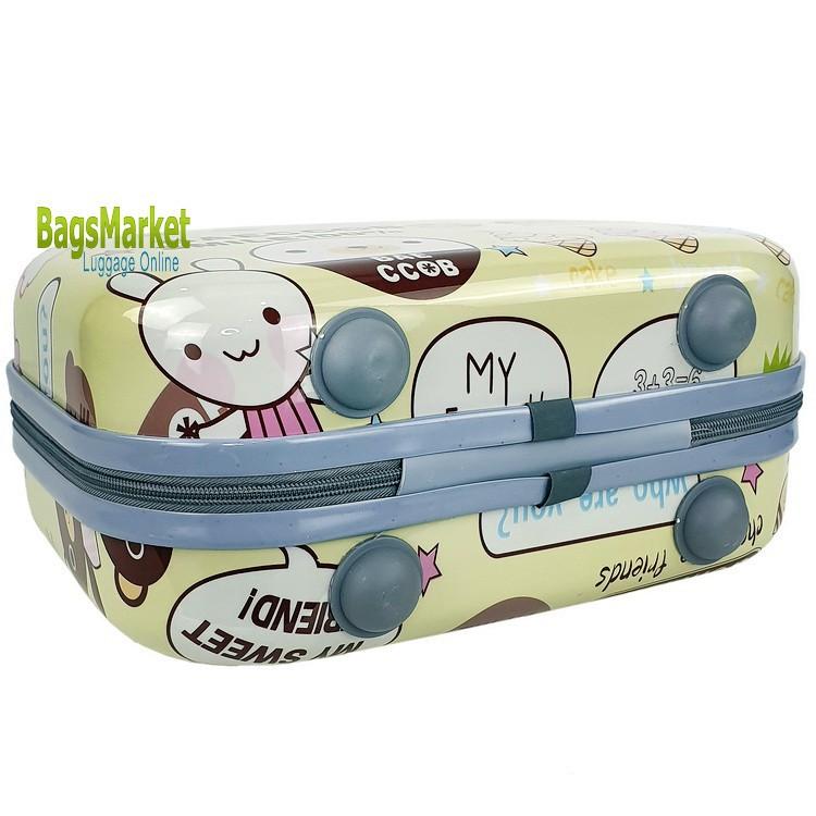กระเป๋าเดินทางล้อลาก Bolom Polycarbonate กระเป๋าเดินทางแบบถือ กระเป๋าแฟชั่น กระเป๋าใส่เสื้อผ้า ขนาด 14 นิ้ว BLPC14