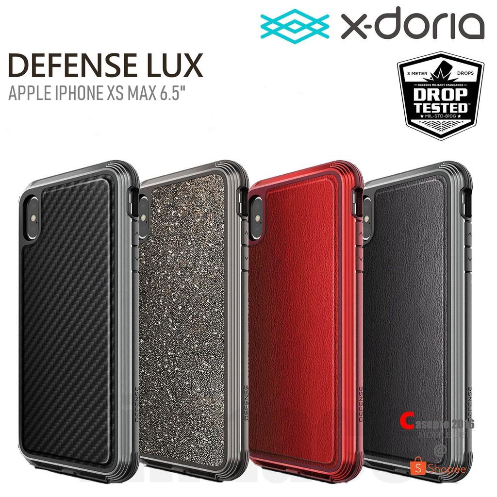 """X-DORIA DEFENSE LUX เคสกันกระแทกมาตราฐานอเมริกา รองรับ APPLE IPHONE XS MAX 6.5"""""""