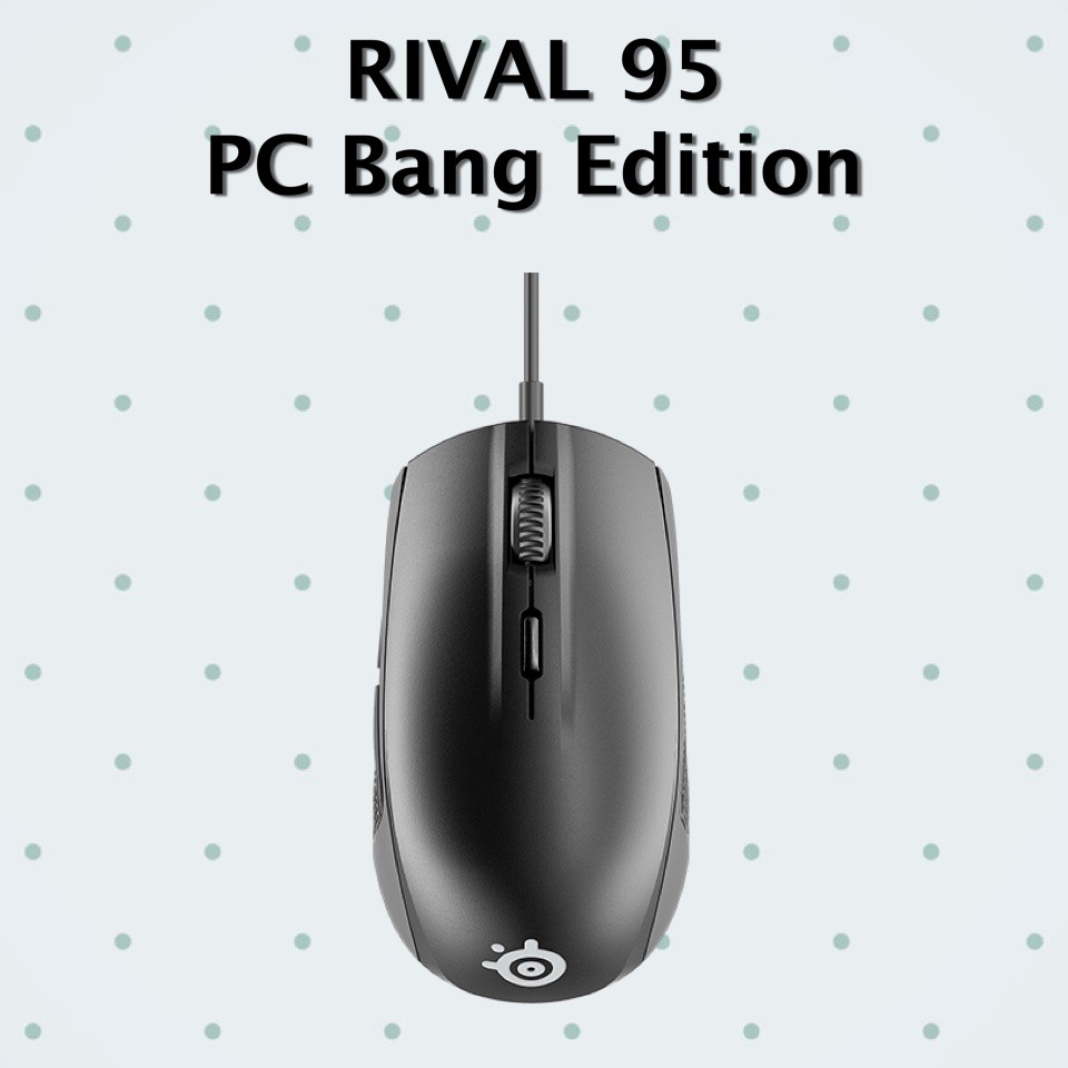 MOUSE (เม้าส์) STEELSERIES RIVAL 95