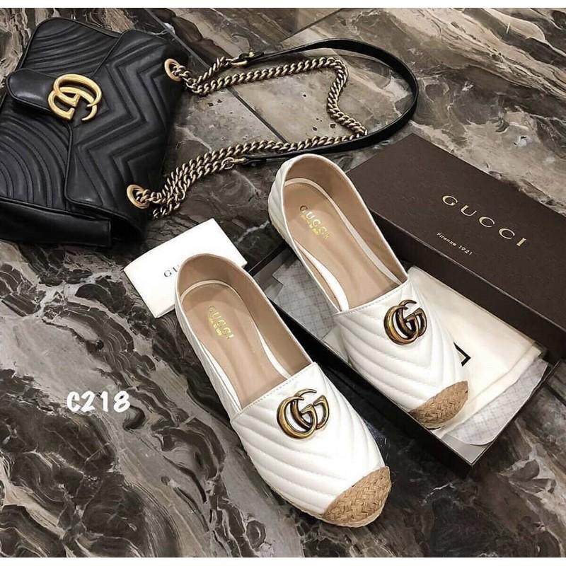 รองเท้าหุ้มส้น รองเท้าคัชชู รองเท้าลำลอง รองเท้าผู้หญิง gucci