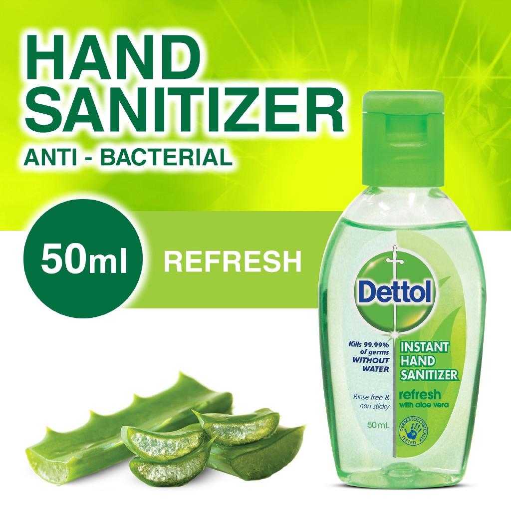 ‼️ส่งฟรี‼️ Dettol เดทตอล เจลล้างมืออนามัย ขนาด 50 มล.