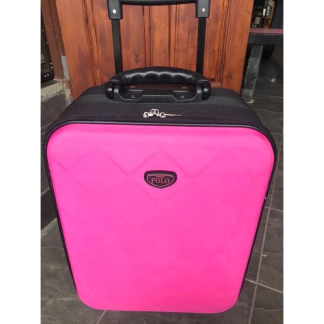 กระเป๋าเดินทางขนาด20นิ้ว กระเป๋าเดินทางpremiumขนาด20นิ้ว romar poloสีชมพูสวยมาก สวยมาก🥰🥰🥰🥰🥰