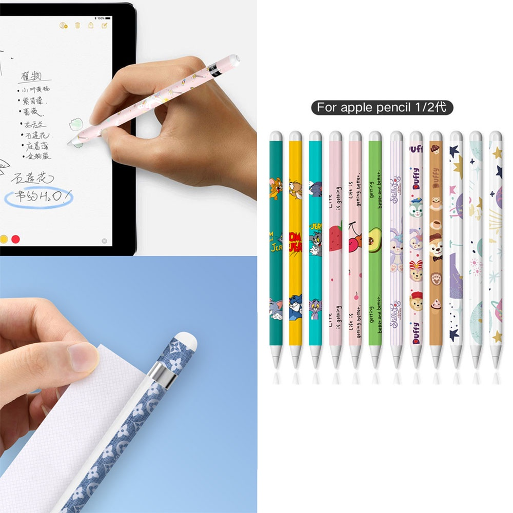 【xijing1.th】COD Frosted material apple pencil stylus sticker Apple ipad stylus film 1pcs