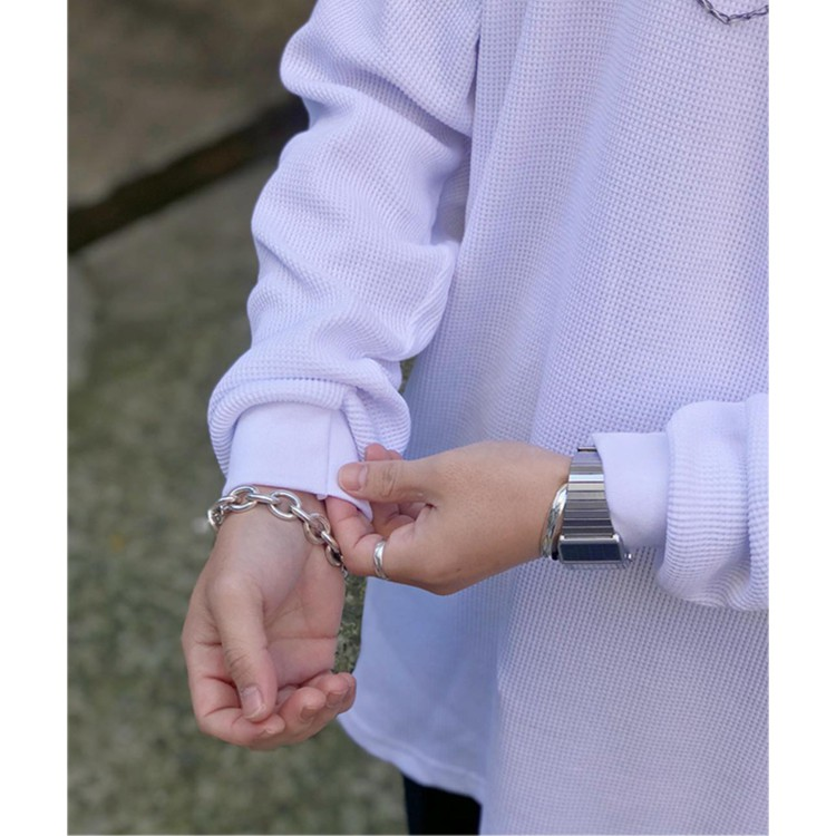 Proclub เสื้อแขนยาวทรงหลวมสไตล์ฮิปฮอป
