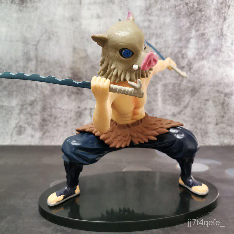 CUTE Demon Slayer figure modelDemon Slayer Blade Combat Edition Kitchen Gate Nidouzi My Wife Zenyi Zuiheiyi s Assistant#