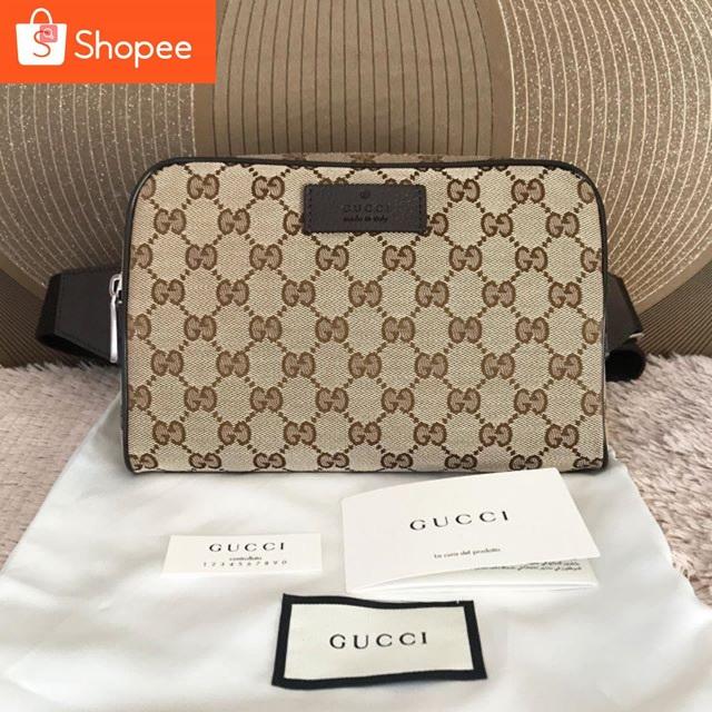 NewGucci GG Supreme Belt Bag