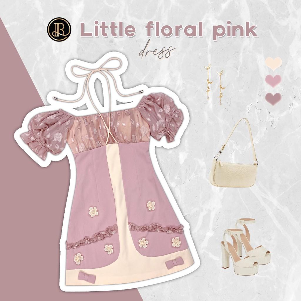 ❌เหลือแค่ XS❌ Pink Lemonade MiniDress BLT BRAND : มินิเดรสเชือกชมพู