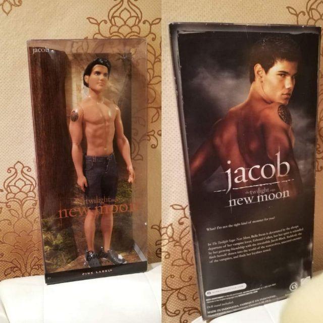 บาร์บี้แท้ Jaccb จาก Vampire twilight neemoon