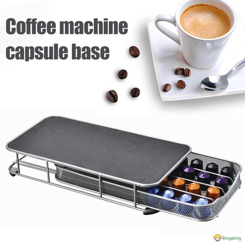 กาแฟแคปซูล เมล็ดกาแฟ ชั้นเก็บแคปซูลกาแฟ สำหรับเครื่องทำกาแฟ Nespresso