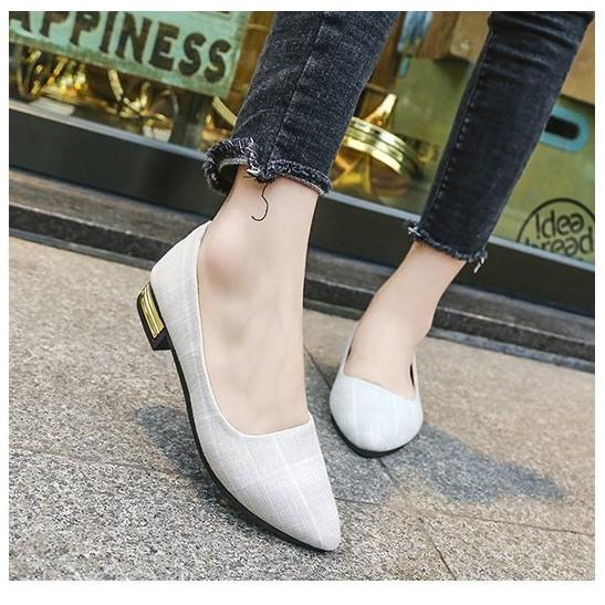 รองเท้าผู้หญิง💗รองเท้าหัวแหลม รองเท้าแฟชั่น รองเท้าส้นแบน รองเท้าโลฟเฟอร์ คัชชู มีไซส์36-42