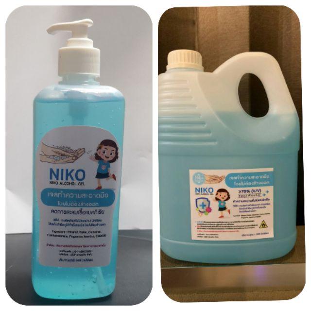 เจลล้างมือแอลกอฮอล์ 70% 500ml/1 ลิตร