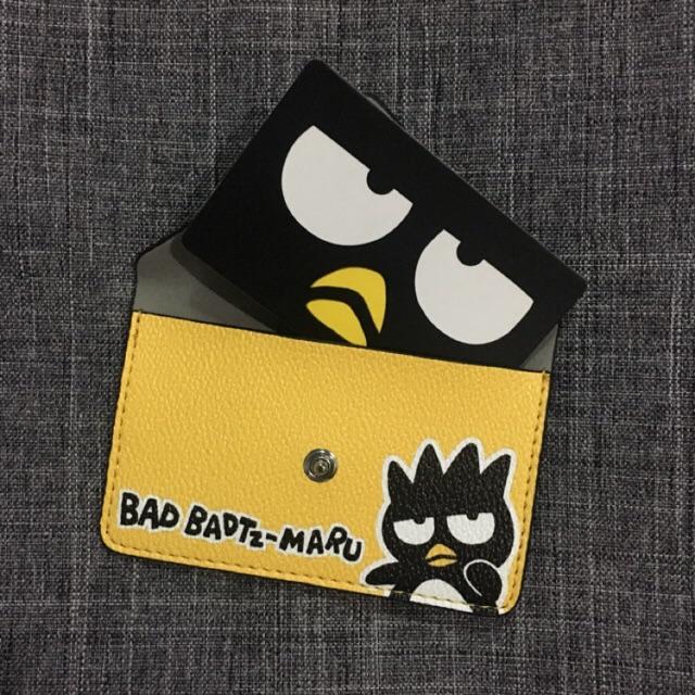 กระเป๋าใส่บัตร ใส่หูฟัง bad badtz maru