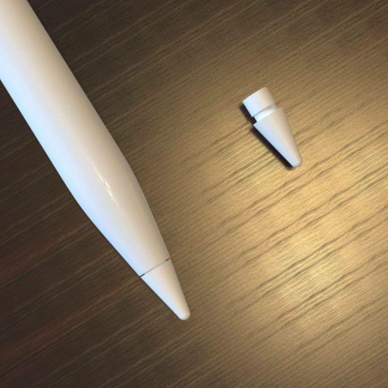 ฤดูร้อนรูปแบบใหม่  ✠✱หัวปากกา Apple pencil รุ่น 1/2 High Sensitivity Nib ใช้แทนหัวสึก เหมือนแท้ เกรด A