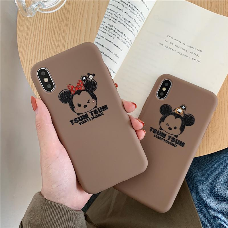 Review 《Mickey Mouse Phone Case》Suitable for เคส iPhoneCase iPhone6 6S i7 8Plus iPhoneX XSMax XRCASE Slim Cover