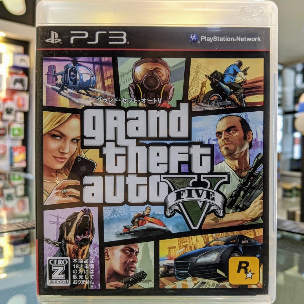 (ภาษาอังกฤษ) มือ2 GTA V เกมPS3 แผ่นPS3 มือสอง (Grand Theft Auto V GTA5 GTA 5 GTA Online)