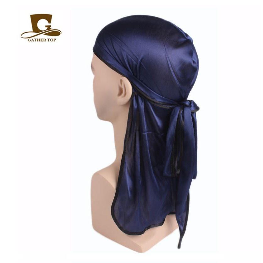 ที่คาดผม คาดผม ผ้า silky durag PREMIUM ผ้าโพกหัว ดูแรค YOUNGOHM สไตล์