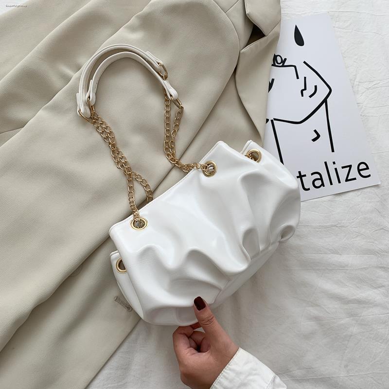 ☑️กระเป๋าถือ  กระเป๋าสะพายไหล่ กระเป๋าสะพายข้าง กระเป๋า 2020 ใหม่กระเป๋าเดินทางแบบโซ่กระเป๋าใบเล็กหญิงเกาหลีกระเป๋าสะพาย