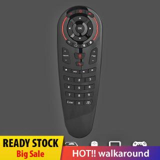 🔥Big sale🔥 UNIhappy G30 2.4G Wireless Voice Air Mouse 18 Keys Gyro Sensing Smart Remote Co