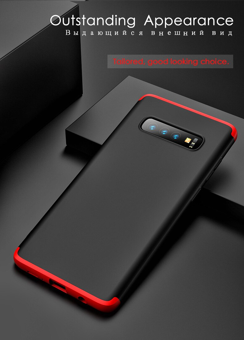 Case Samsung galaxy Note 10 plus 9 8 S10 S9 Plus S10E S10 5G case Matte PC Cover Samsung A9 Pro A9S A8s J8 J6 A8 A6 Case