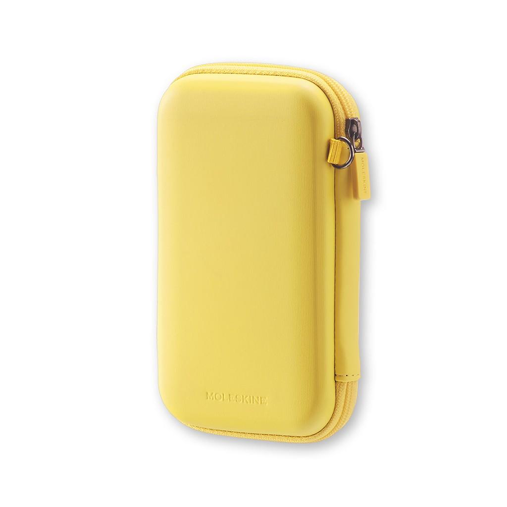 MOLESKINE JOURNEY POUCH HARD กระเป๋า ขนาดเล็ก (สีเหลือง)