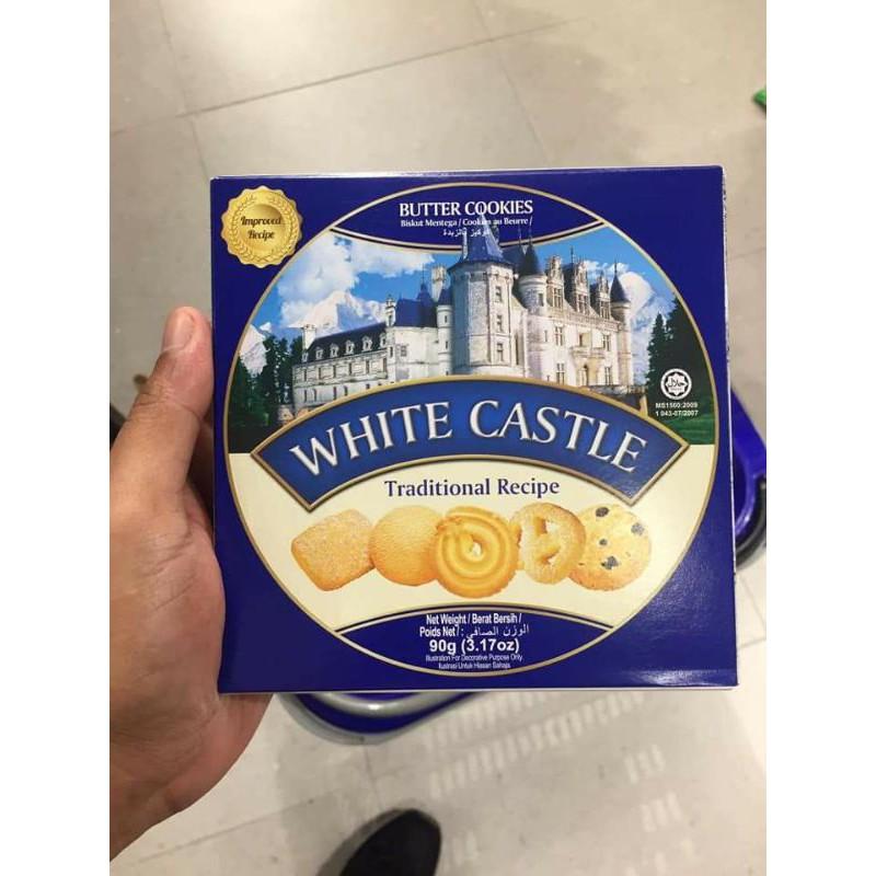 คุกกี้เนย Cookies White castle