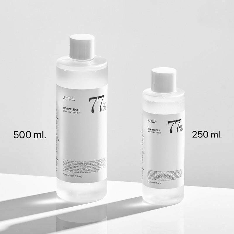 ✨พร้อมส่ง✨|ANUA Heartleaf 77% Soothing Toner - โทนเนอร์พี่จุน 500 ml.