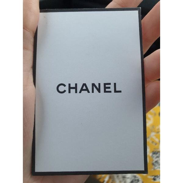 บัตรแต่งหน้า  chanel