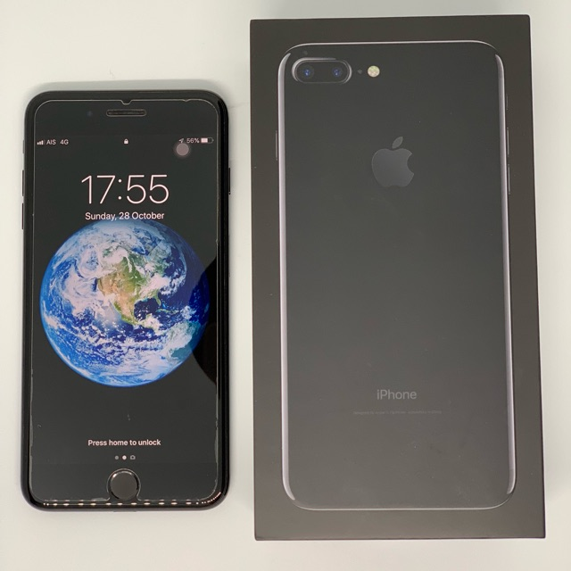 Iphone 7plus,128GB, Jet Black (มือสอง)