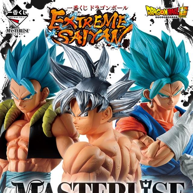 (ของแท้) Dragonball Ichiban KUJI Extreme Saiyan Masterlise Extra Goku Vegetto Vegito Vegeto Gogeta Model โมเดล ฟิกเกอร์