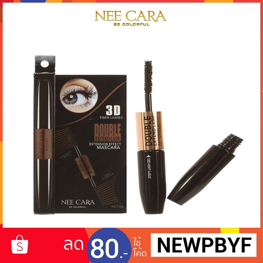 92d94067959 ของแท้ 💯 Nee Cara Double Extend Lash Extension Effect Mascara พร้อมส่ง!!!