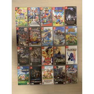 [NSW][มือ2]animal crossing/mario/pokemon/kart/switch1-2/overcook/assassin/party