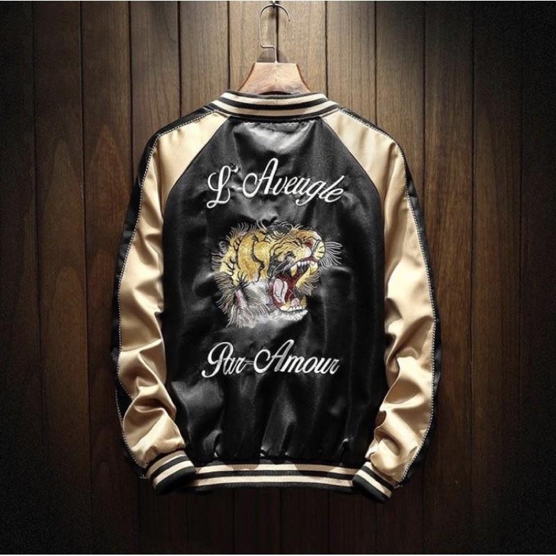 ด่วน!!! The Tigers Sukajan Souvenir Jacket[การันตีคุณภาพ100%]