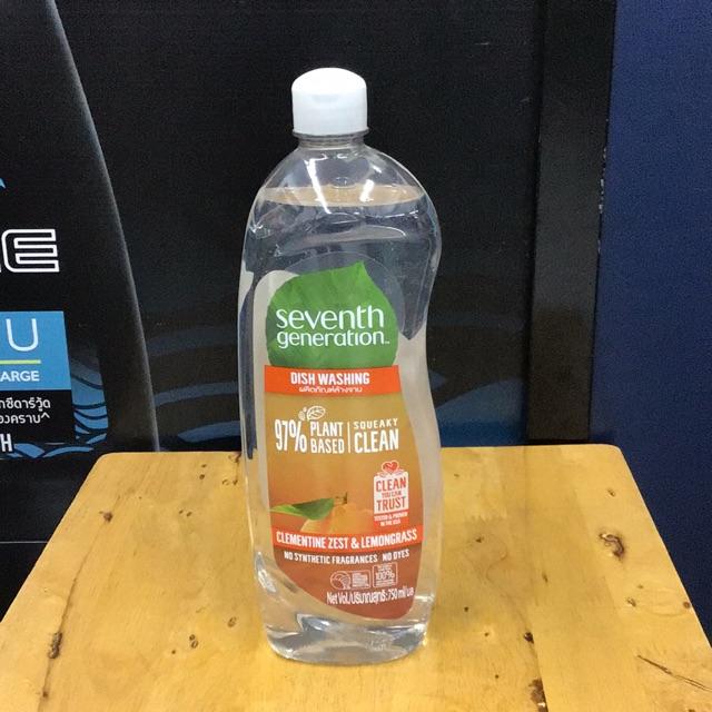 น้ำยาล้างจาน เซเว่น เจเนอเรชั่น seventh generation 750ml.