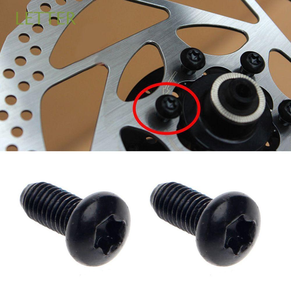 12pcs Mountain Bike Brake Rotor Bolts Screws Stainless Steel T25 Bicycle Brake Disc Bolts Screw