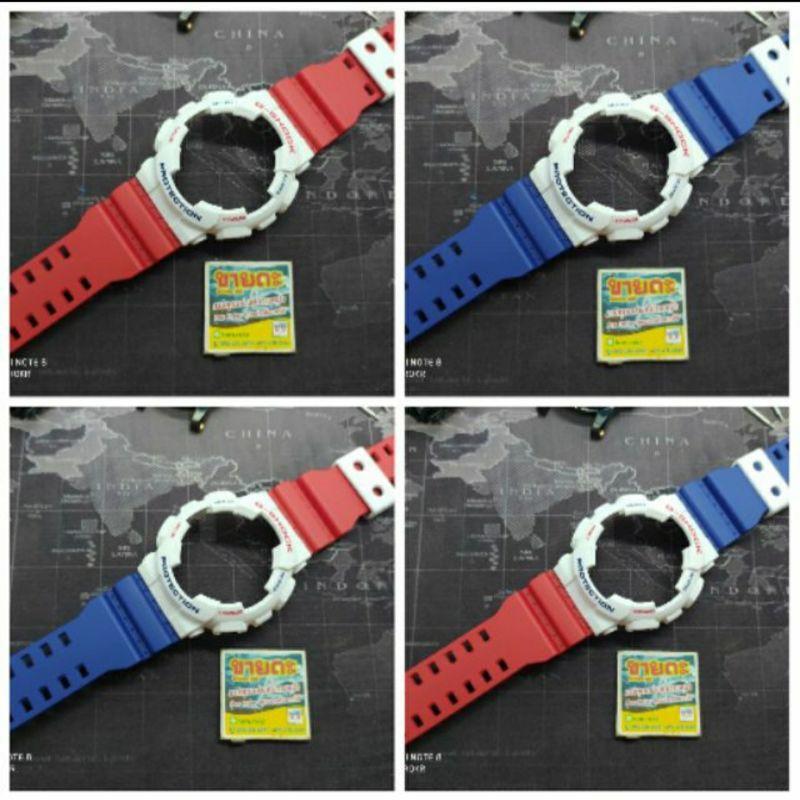 สาย applewatch สาย applewatch แท้ เลือกสีสายได้ กรอบสาย Casio G-Shock GA , GD รุ่น 100, 110 , 120#สายนาฬิกา #กรอบสายจีช๊