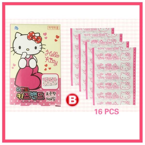 1 random box Sanrio Hello Kitty Band Aids Bandages Box 16pcs