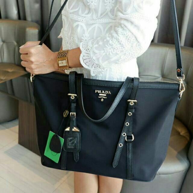 352d654059c5ea PRADA แท้ premium gift ทรงเดียวกับ Longchamp | Shopee Thailand