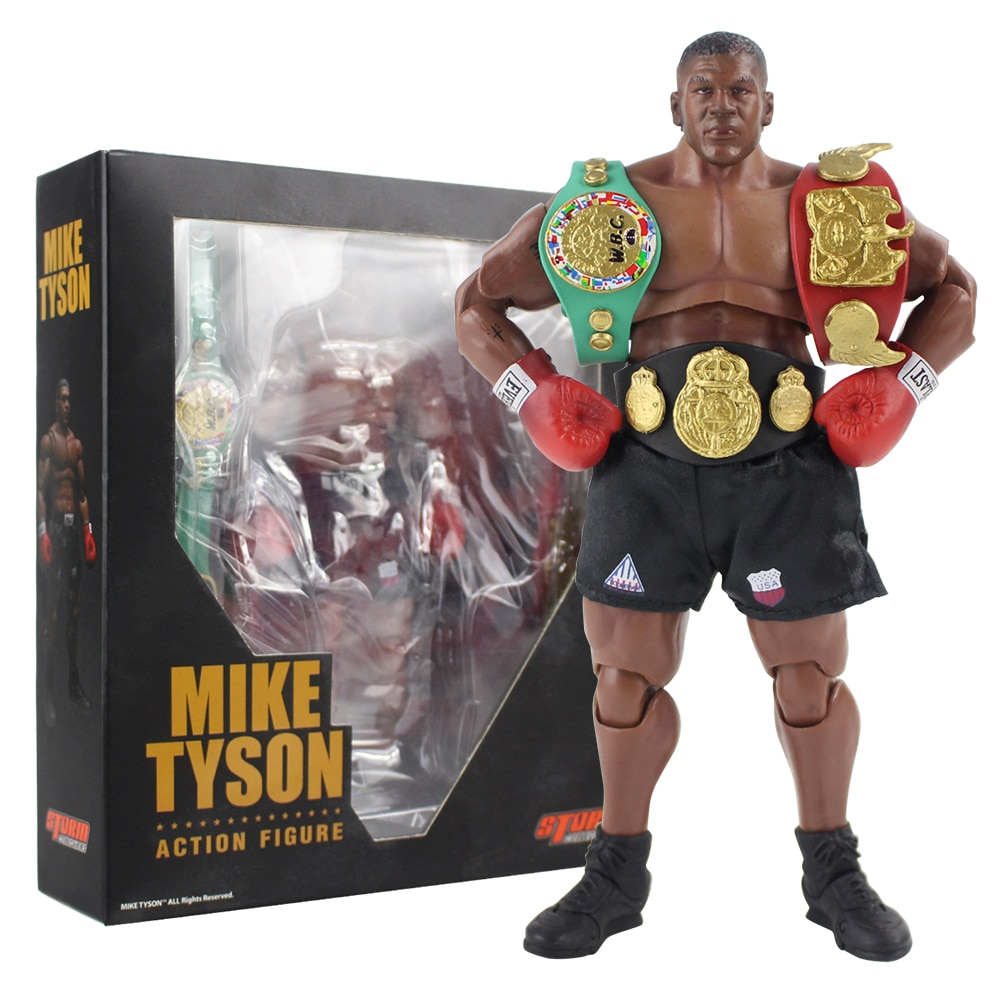 18cm Mike Tyson Figure Toys Movable Figurine PVC Action Figure Collection Model Toy