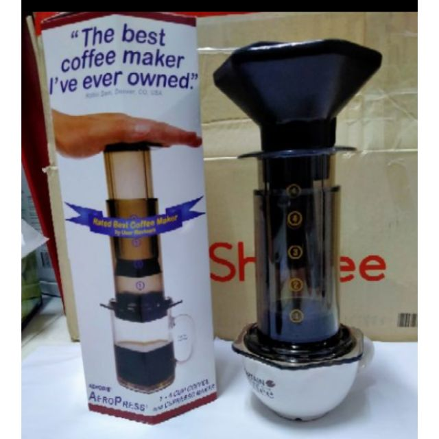 เครื่องทำกาแฟ Aeropress สำหรับทำกาแฟสด