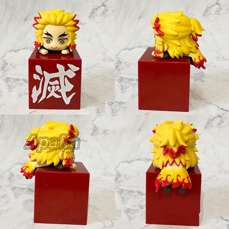รูป:10cm Hikkake Demon Slayer Anime Figure Kimetsu no Yaiba Kochou Shinobu Action Figure Kamado Tanjirou Kamado Nezuko F