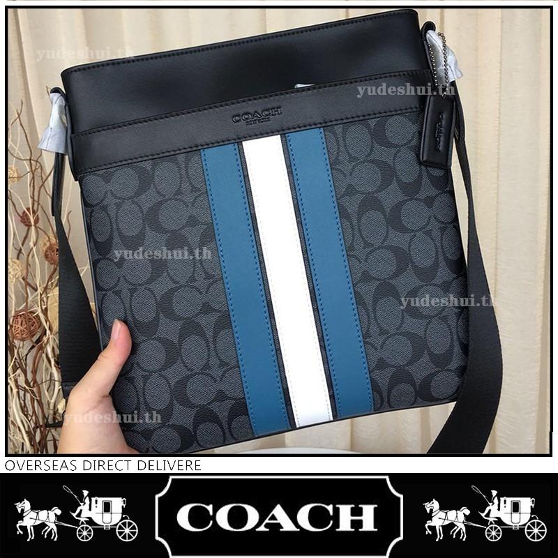 NEW แท้100% COACH F26068 กระเป๋าผู้ชาย กระเป๋าสะพายข้าง Crossbody Bag