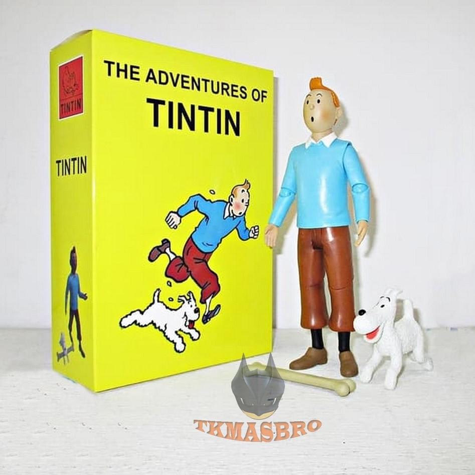 ฟิกเกอร์ Tintin Figure ขนาด 18 ซม.