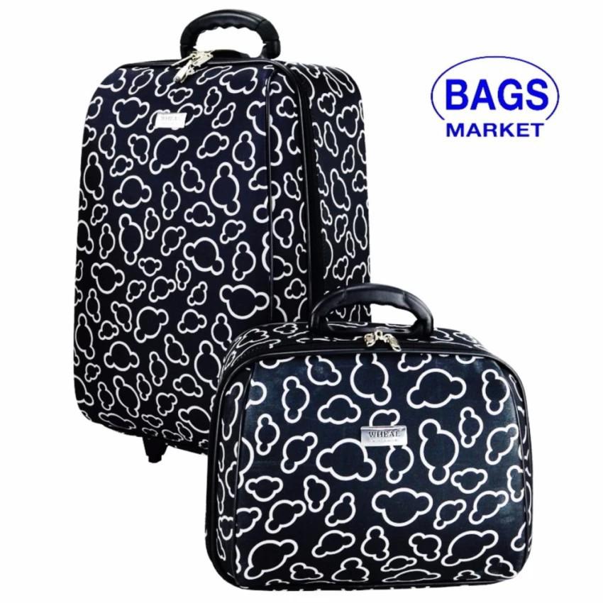 กระเป๋าเดินทาง กระเป๋าเดินทางล้อลาก Wheal เซ็ทคู่ ลิขสิทธิ์ของแท้ 20/14 นิ้ว Code FBL7720-1 กระเป๋าล้อลาก กระเป๋าเดินทาง