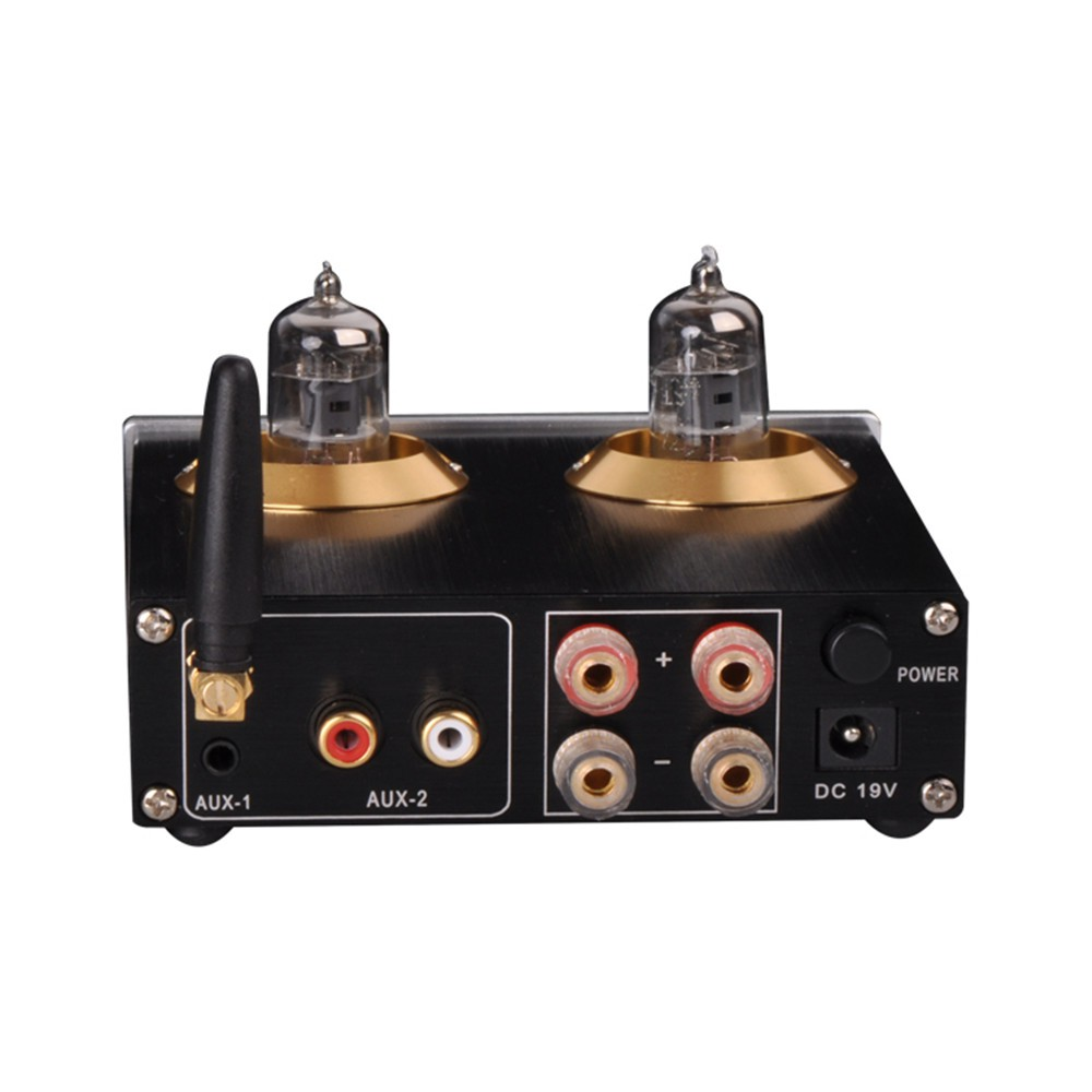 Pj miaolai M8 เครื่องขยายเสียง HIFI High Power Bluetooth Tube Digital  Amplifier