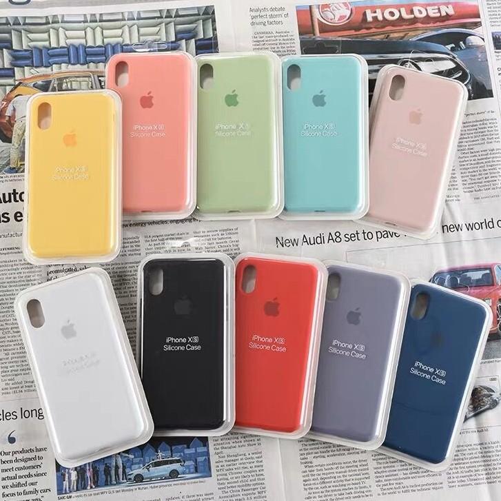 【ปกเต็ม】 IPhone Case เคสนิ่ม เนื้อซิลิโคน APPLE iPhone 6+/6S/7+/8PLUS